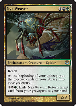 Nyx Weaver | Magic: The Gathering Card