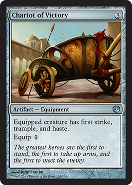 Chariot of Victory | Magic: The Gathering Card
