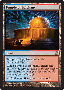 Temple of Epiphany | Magic: The Gathering Card