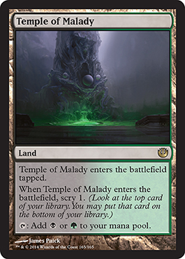 Temple of Malady | Magic: The Gathering Card