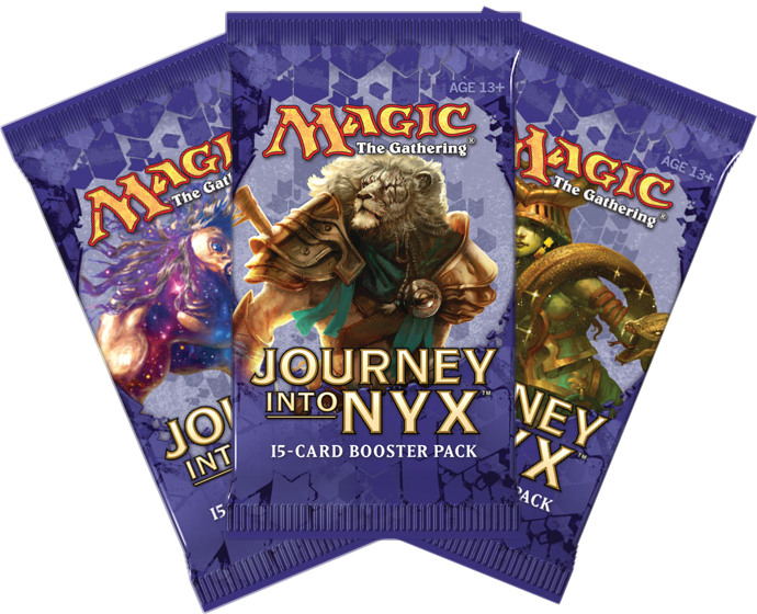 Journey into Nyx Booster Pack   Magic  The Gathering   Planeswalker sJourney Into Nyx Planeswalker