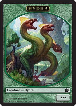 Hydra Token in Journey into Nyx