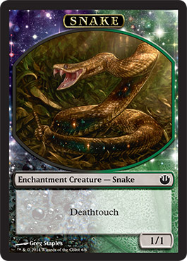 Snake Token in Journey into Nyx
