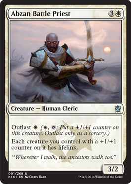 Abzan Battle Priest | Magic: The Gathering Card