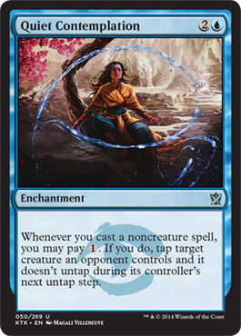 Quiet Contemplation | Magic: The Gathering Card
