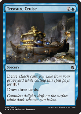 Treasure Cruise | Magic: The Gathering Card