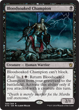 Bloodsoaked Champion | Magic: The Gathering Card