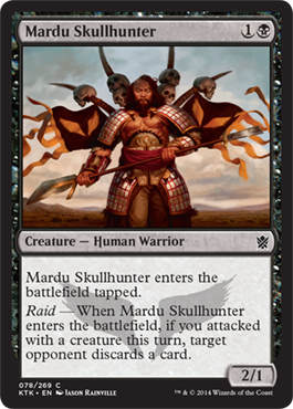 Mardu Skullhunter | Magic: The Gathering Card