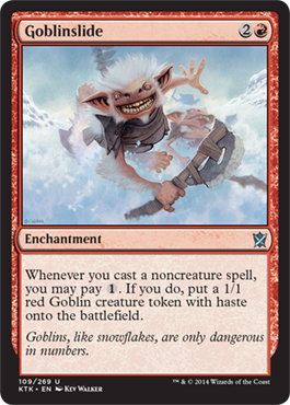 Goblinslide | Magic: The Gathering Card