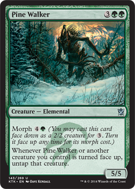 Pine Walker | Magic: The Gathering Card