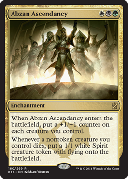 Abzan Ascendancy | Magic: The Gathering Card