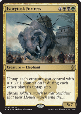 Ivorytusk Fortress | Magic: The Gathering Card