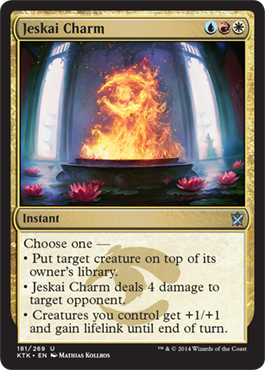 Jeskai Charm | Magic: The Gathering Card