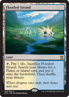 Flooded Strand | Magic: The Gathering Card
