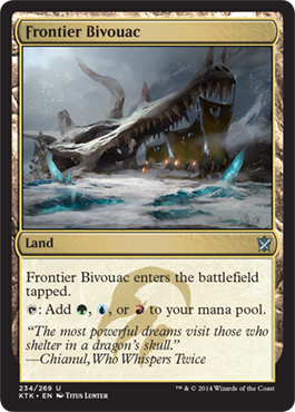 Frontier Bivouac | Magic: The Gathering Card