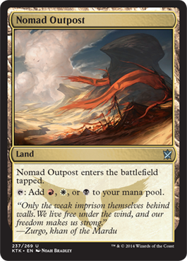 Nomad Outpost | Magic: The Gathering Card