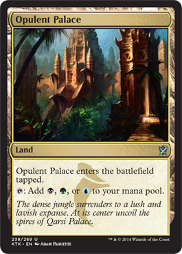Opulent Palace | Magic: The Gathering Card