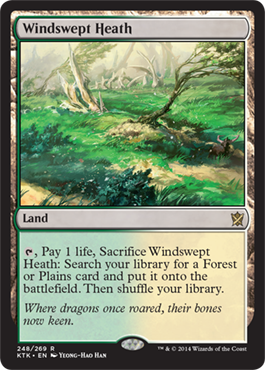 Windswept Heath | Magic: The Gathering Card