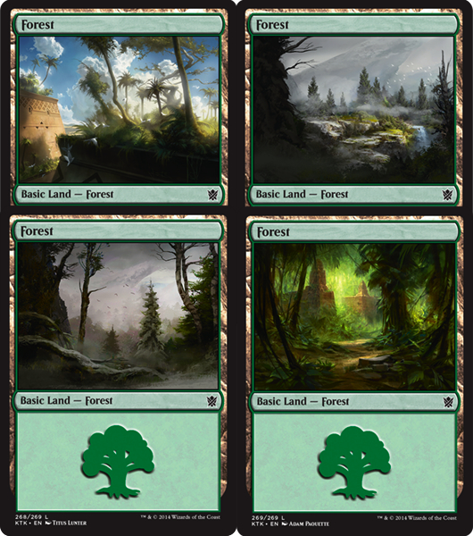 Forest | Magic: The Gathering Card