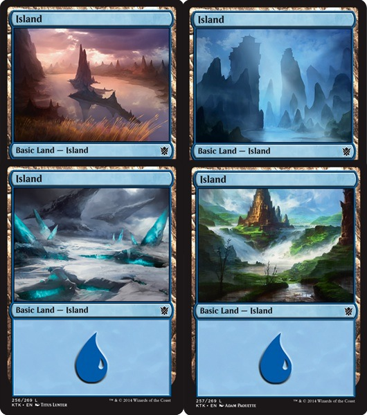 Island | Magic: The Gathering Card