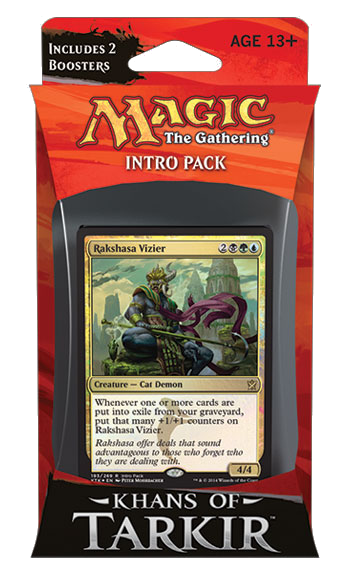 Khans of Tarkir Sultai Schemers Intro Pack | Magic: The Gathering