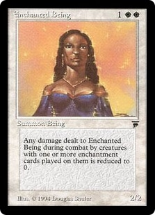 Enchanted Being | Magic: The Gathering