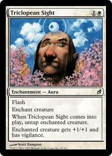 Triclopean Sight | Magic: The Gathering Card