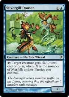 Silvergill Douser | Magic: The Gathering Card