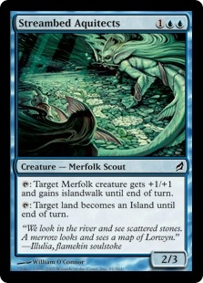 Streambed Aquitects | Magic: The Gathering Card