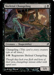 Skeletal Changeling | Magic: The Gathering Card