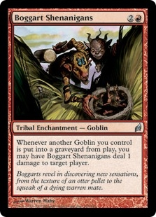 Boggart Shenanigans | Magic: The Gathering Card