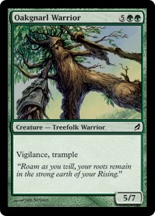Oakgnarl Warrior | Magic: The Gathering Card