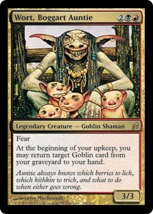 Wort, Boggart Auntie | Magic: The Gathering Card