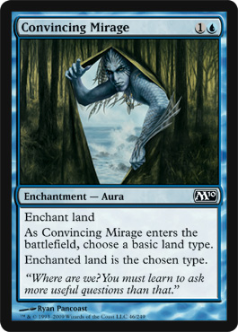 Convincing Mirage | Magic: The Gathering Card