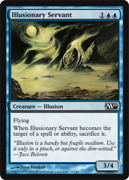 Illusionary Servant | Magic: The Gathering Card
