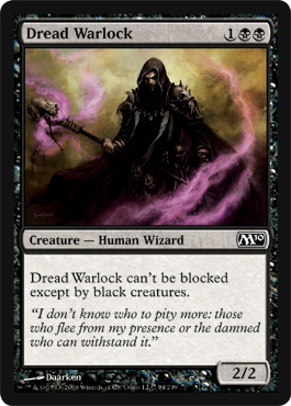 Dread Warlock | Magic: The Gathering Card
