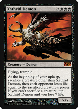 Xathrid Demon | Magic: The Gathering Card