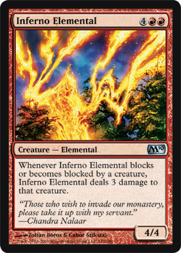 Inferno Elemental | Magic: The Gathering Card