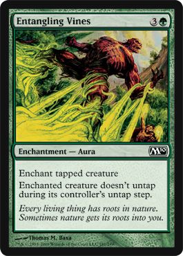 Entangling Vines | Magic: The Gathering Card