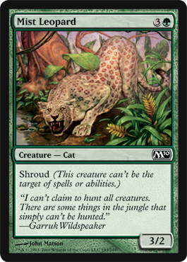 Mist Leopard | Magic: The Gathering Card