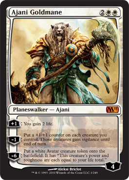 Ajani Goldmane | Magic: The Gathering Card