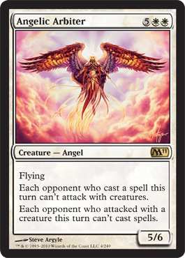 Angelic Arbiter | Magic: The Gathering Card