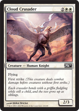 Cloud Crusader | Magic: The Gathering Card