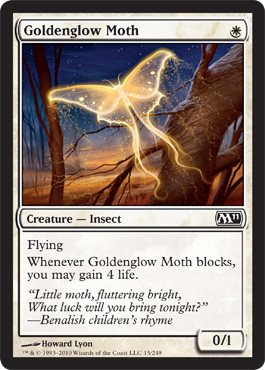 Goldenglow Moth | Magic: The Gathering Card