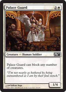 Palace Guard | Magic: The Gathering Card