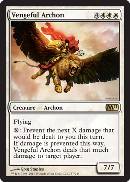 Vengeful Archon | Magic: The Gathering Card