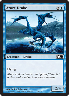 Azure Drake | Magic: The Gathering Card