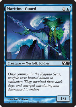 Maritime Guard | Magic: The Gathering Card