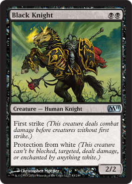 Black Knight | Magic: The Gathering Card