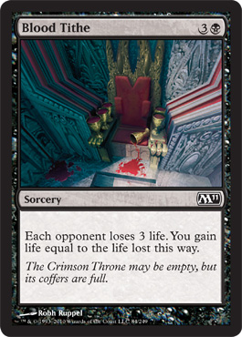 Blood Tithe | Magic: The Gathering Card